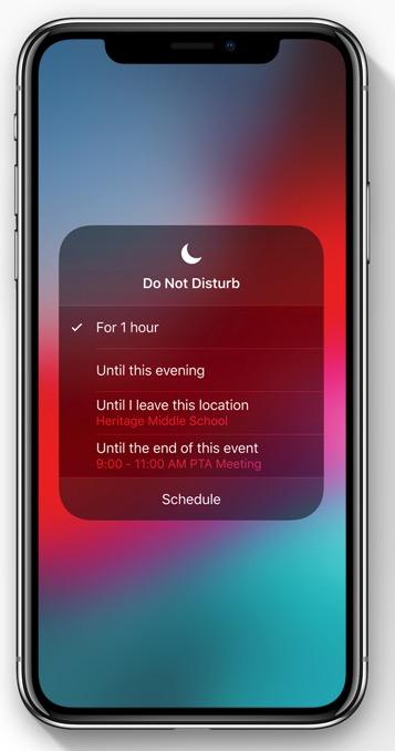 Better Do Not Disturb controls / Photo: Apple