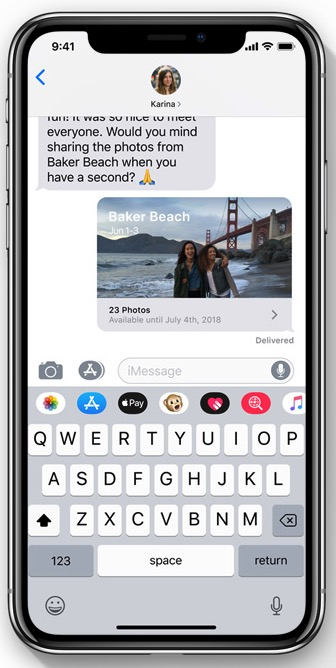 Advanced Photos app controls / Photo: Apple