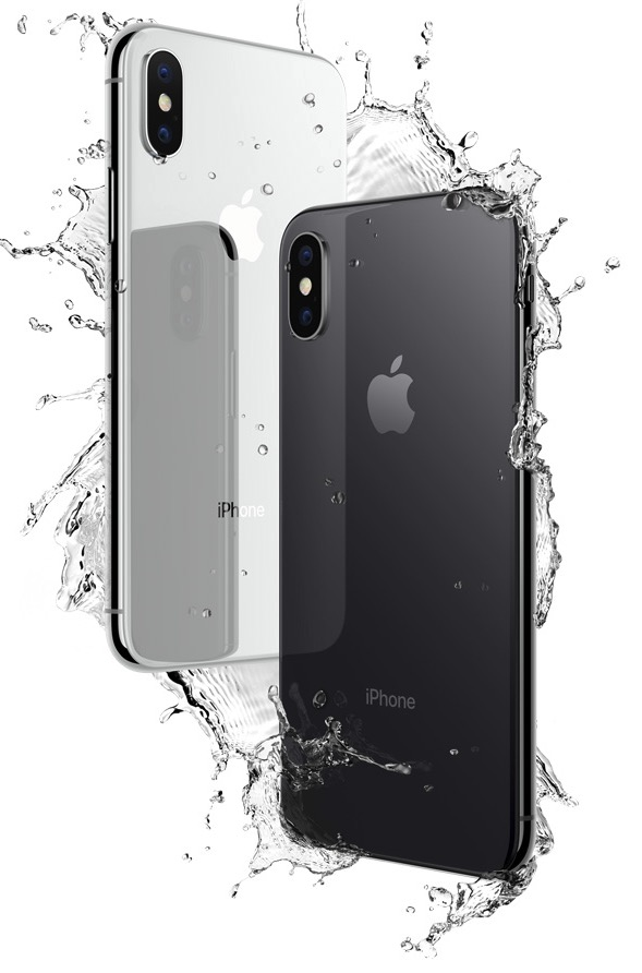 iPhone X water resistant / Photo: Apple
