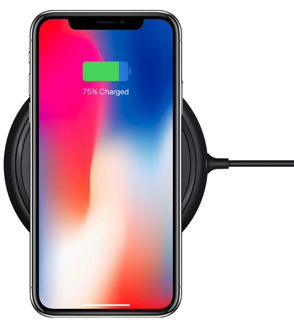 iPhone X wireless charging / Photo: Apple