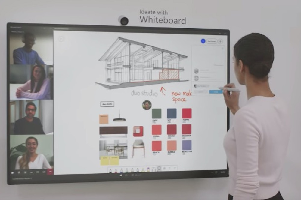 Microsoft Surface Hub 2s Features What You Need To Know