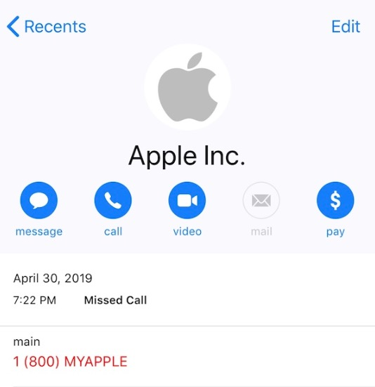 Apple Support Scam: 1 (800) MYAPPLE Being Used For Phony Calls