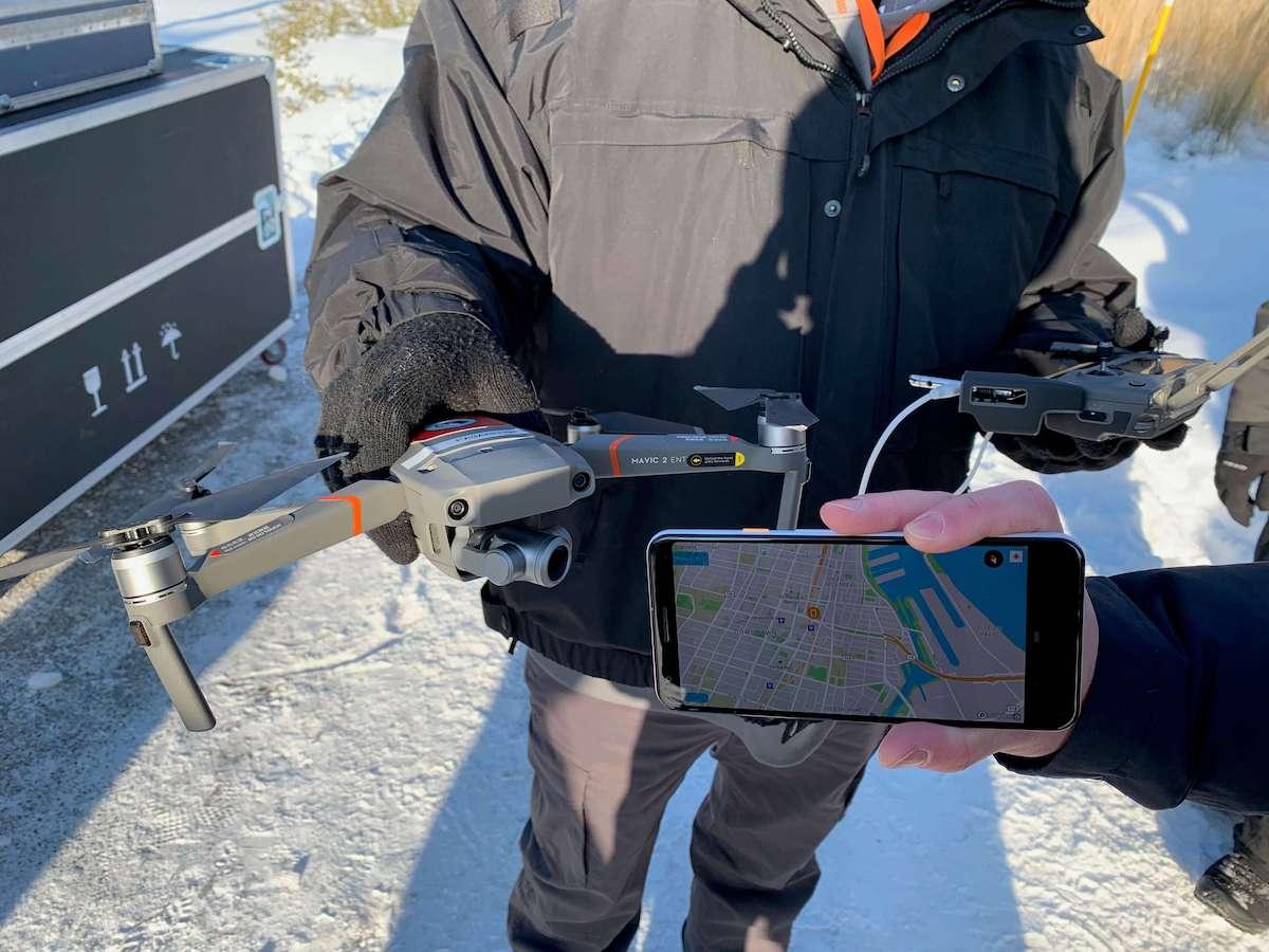 DJI Drone-to-Phone