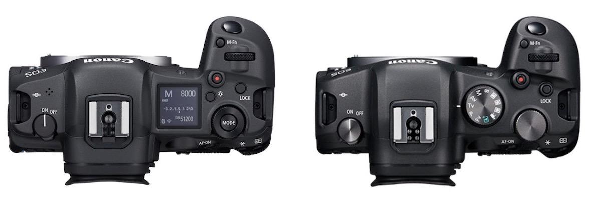 Canon EOS R5-R6 Top