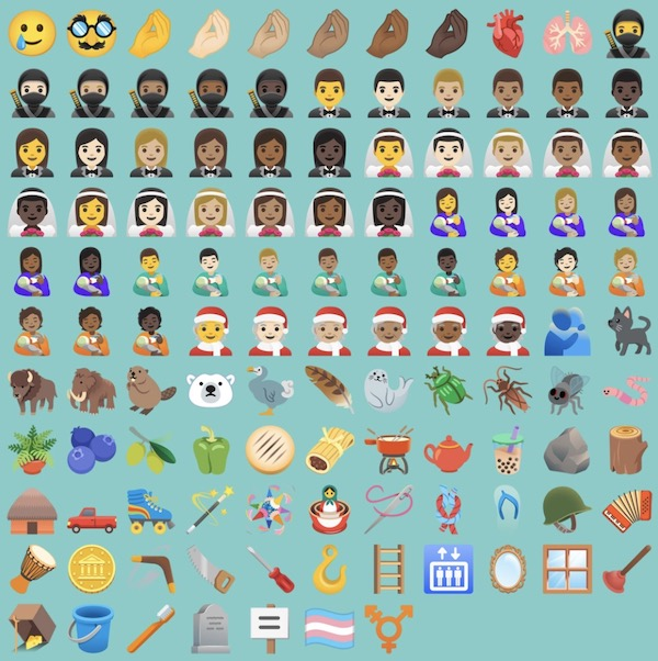 Android 11 - Emoji