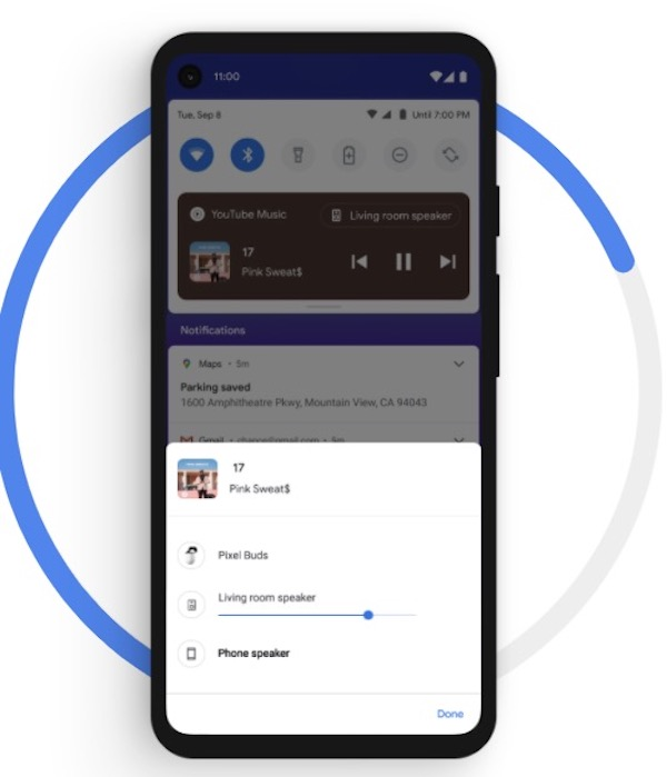 Android 11 - Media Controls