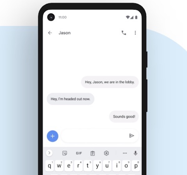 Android 11 - Smart Reply