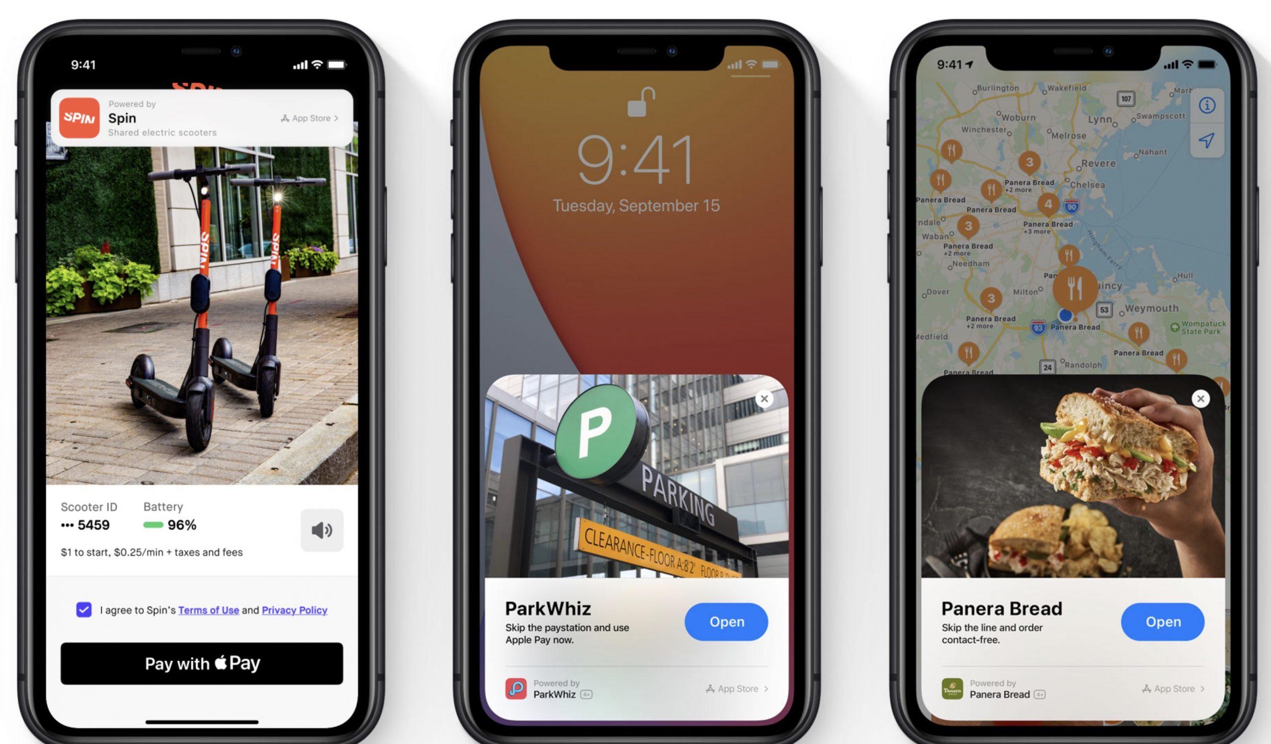 Apple iOS 14 - App Clips