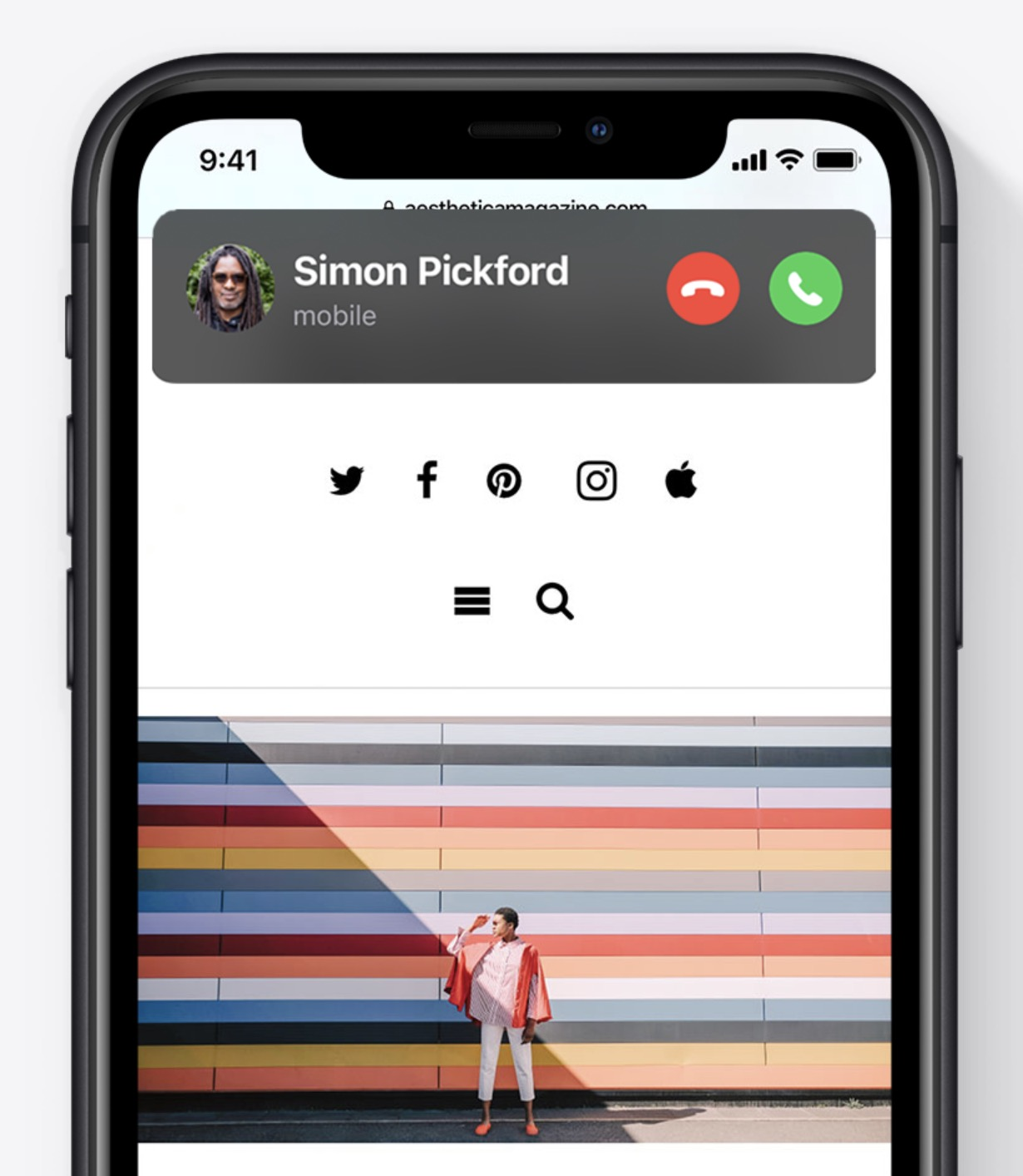 Apple iOS 14 - Compact Calls
