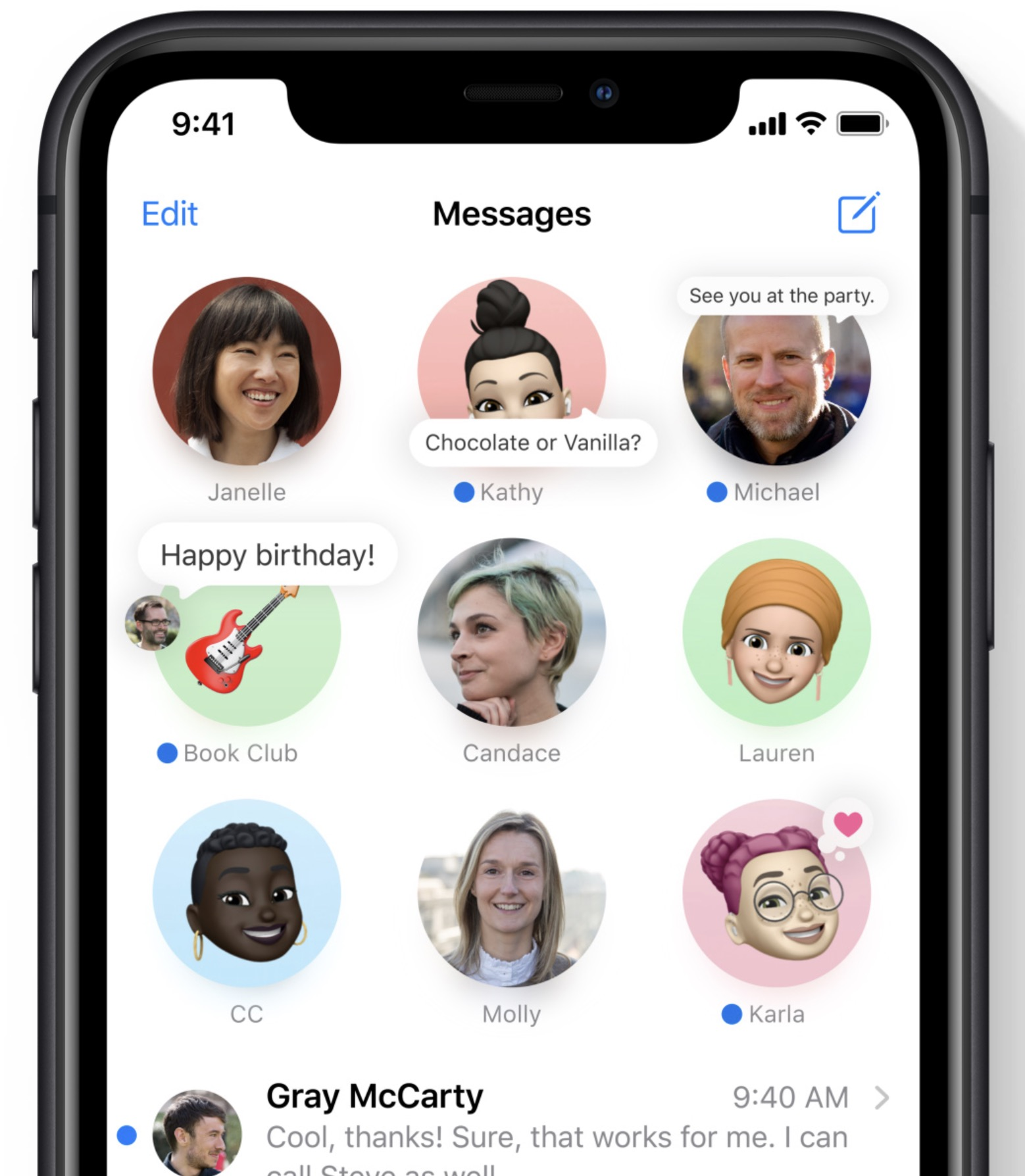 Apple iOS 14 - Pinned Messages