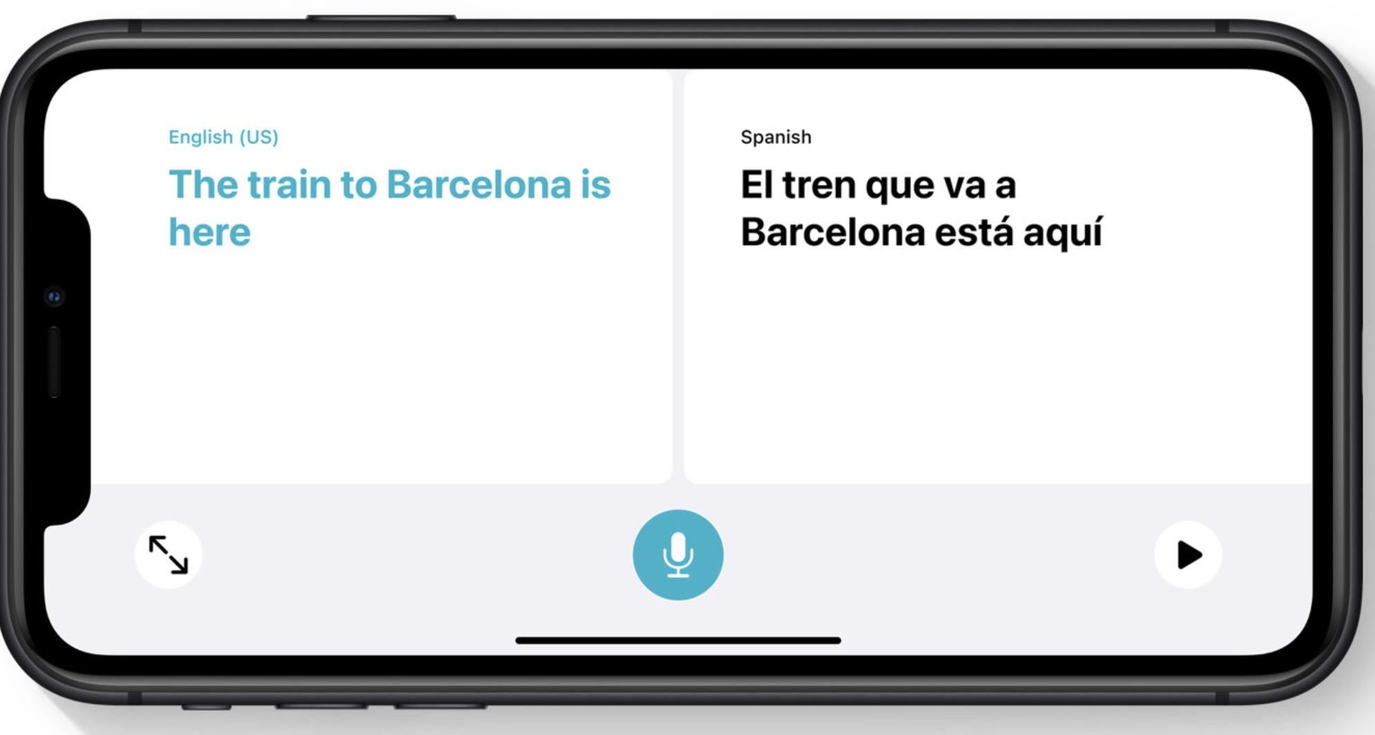 Apple iOS 14 - Translate